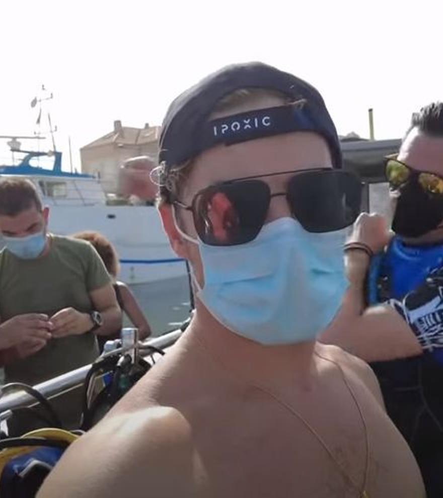Así disfruta David Bisbal de sus vacaciones en Cabo de Palos