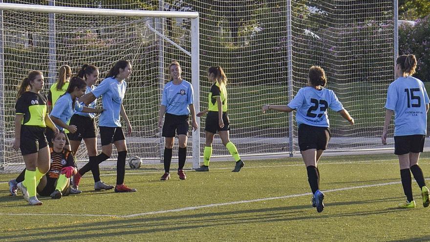 El femenino amateur del Ciutat de Xàtiva gana al At. Cárcer en un reñido partido
