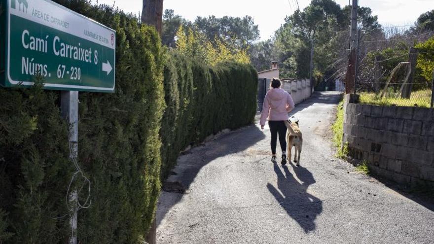 Vecinos del Carraixet de Xàtiva siguen veinte años después sin agua potable