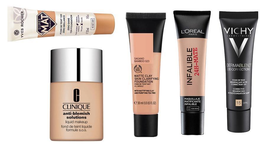 Bases de maquillaje para pieles con tendencia al acné