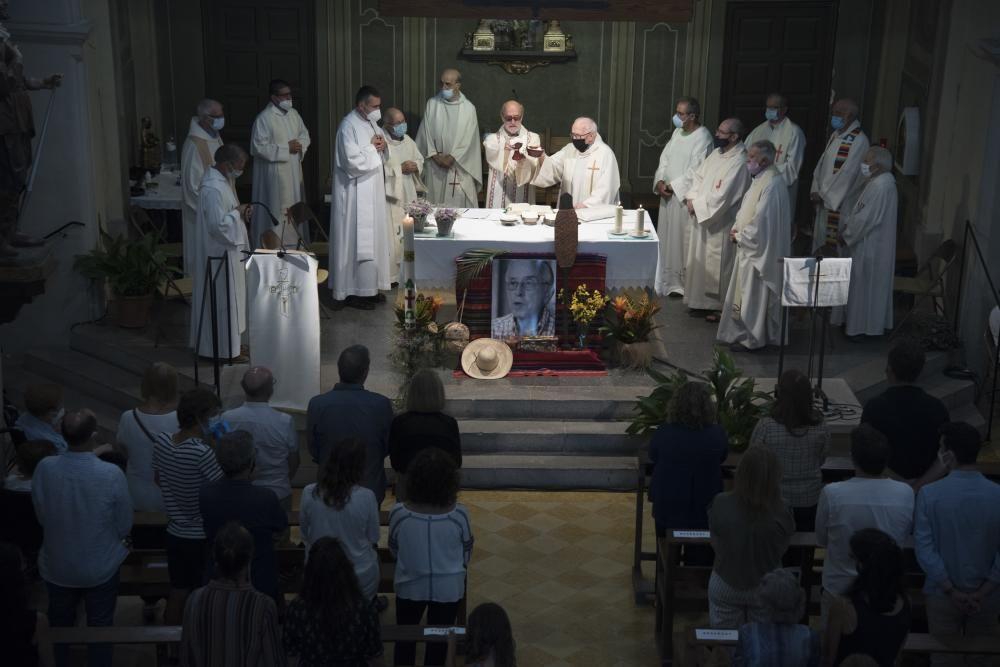 Balsareny acomiada Casaldàliga amb un funeral on es crida a continuar la seva lluita