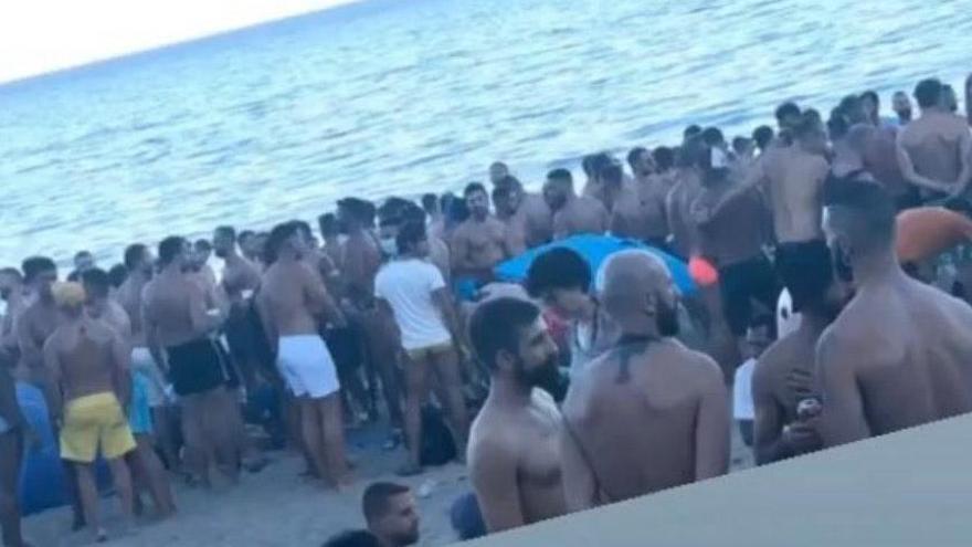Investigan una supuesta fiesta en la playa este fin de semana