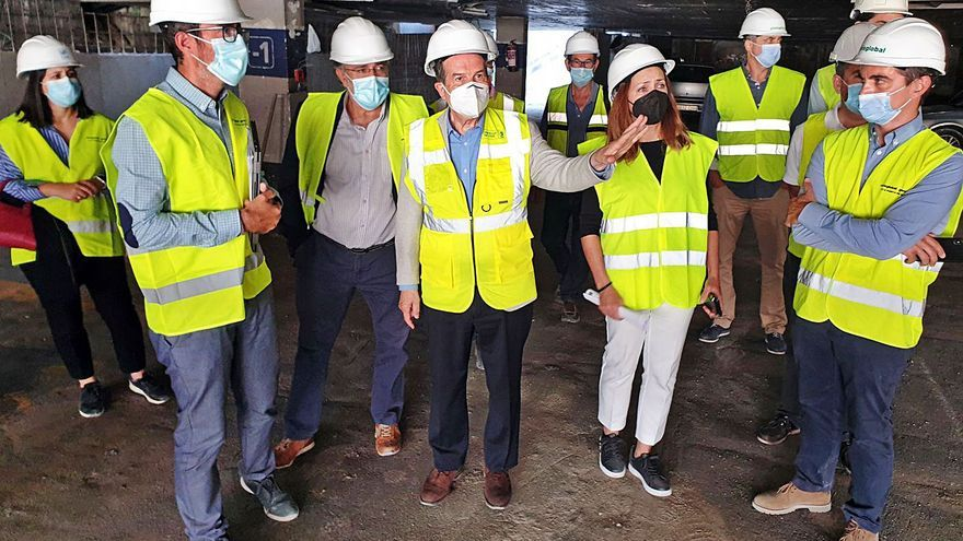 """La cimentación de Porta do Sol estará lista a finales de agosto: """"Es una obra colosal"""""""