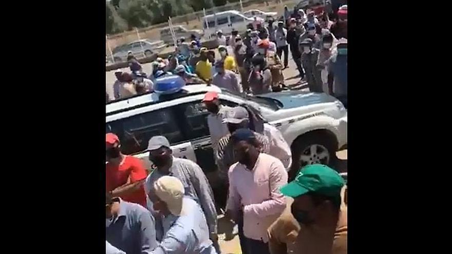 Los trabajadores de una empresa agroindustrial de Maella se rebelan contra las condiciones laborales
