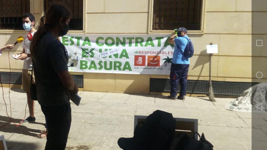 Margalló denuncia que la planta de Els Cremats de Elche presenta los peores datos provinciales de basura enterrada