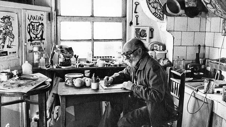 Lalín homenajea a su artista más universal