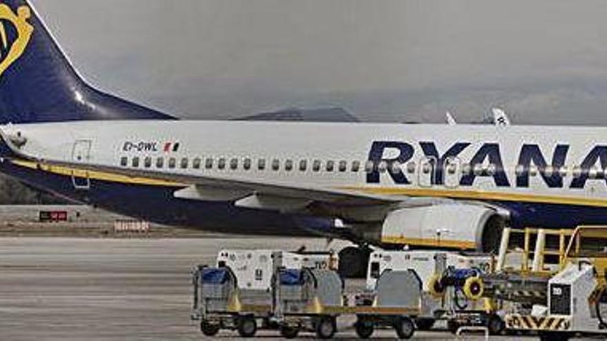 Ryanair guanya 88 milions d'euros el tercer trimestre de 2019