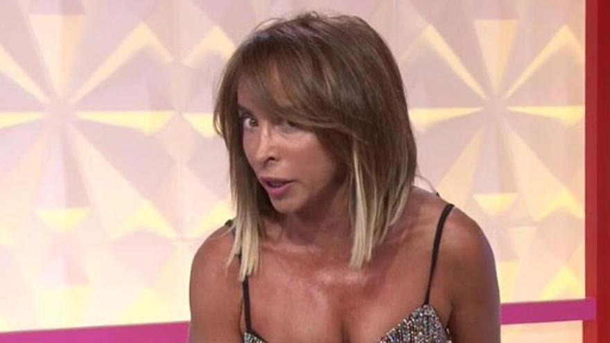 La audiencia carga contra María Patiño por el error que cometió durante la emisión de Socialité