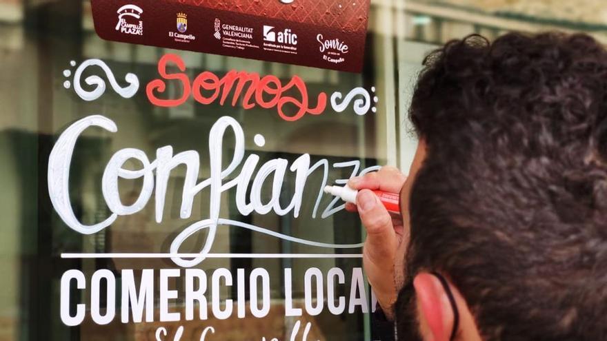 El Campello activa una campaña de apoyo al comercio local para fomentar las compras