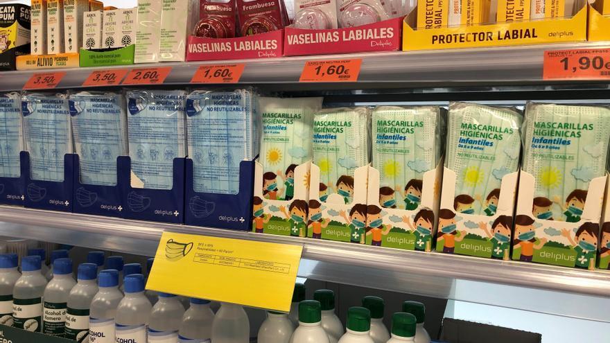 Mercadona baja a la mitad el precio de las mascarillas higiénicas