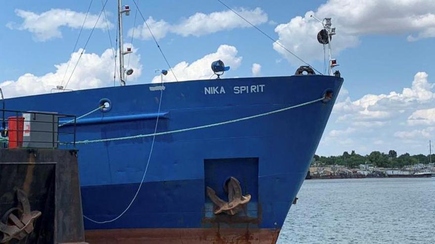 Ucrania ordena el arresto del petrolero ruso 'Nika Spirit', apresado cerca del Mar Negro