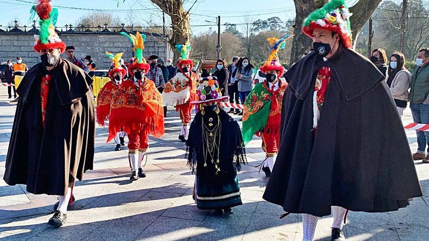 Salceda estrena Rancho de Reis infantil y garantiza el relevo generacional de esta tradicional danza