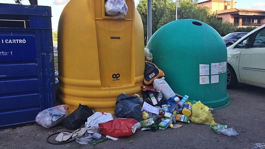 Vecinos de Marratxí se quejan de acumulación de basuras en ciertos puntos