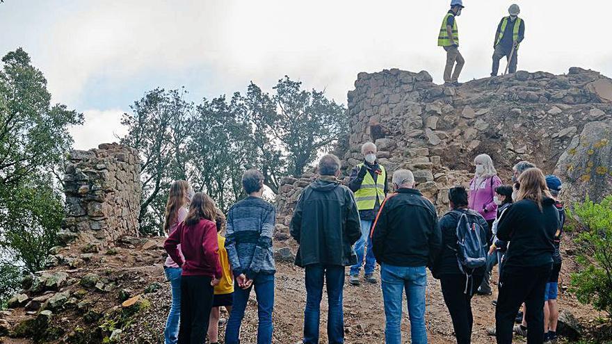 Llagostera engega visites guiades al castell de Montagut durant la festa major