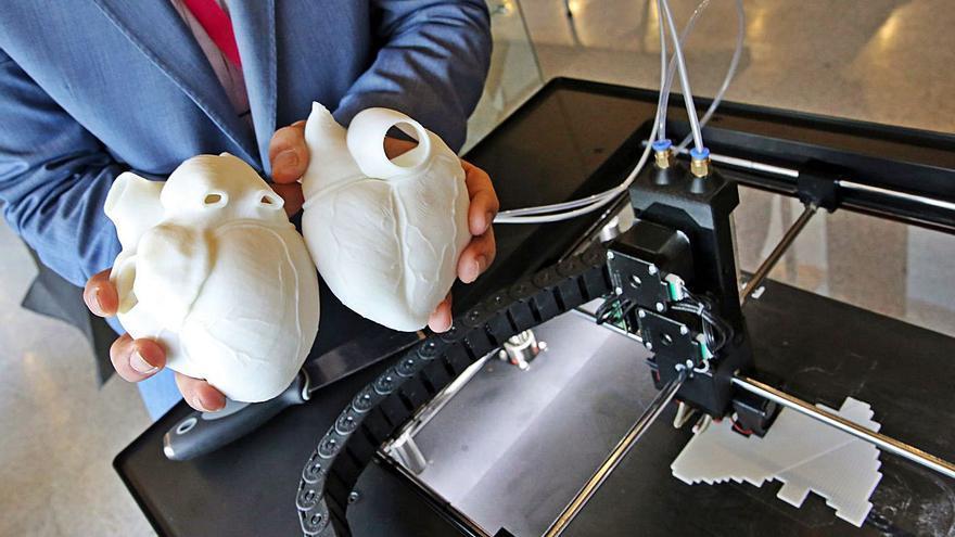 El Sergas usará la impresión 3D para fabricar prótesis y medicamentos personalizados