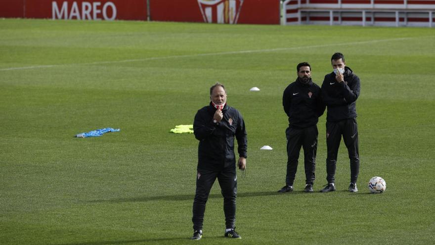 """David Gallego: """"Manu García está rindiendo a un nivel altísimo, tiene talento para ir al Europeo sub-21 y ser titular"""""""