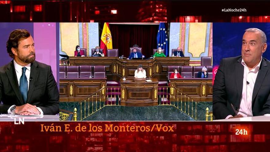 """Fortes, tras su entrevista a Espinosa de los Monteros en TVE: """"Los insultos retratan al que los pronuncia"""""""
