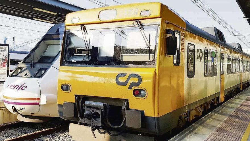 La modernización del tren Vigo-Oporto no se completará hasta 2021