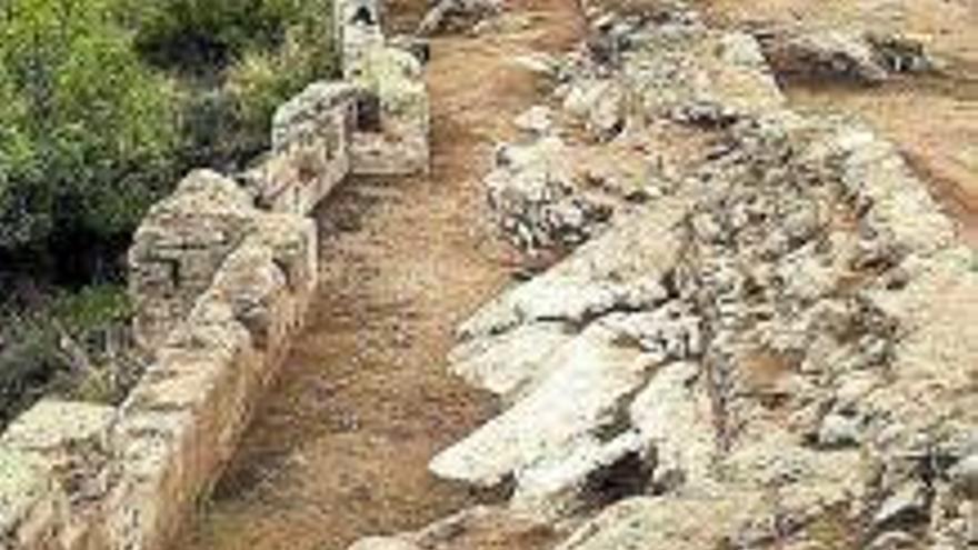 Gandia Acaba la primera fase de intervención en la fortaleza de Bairén