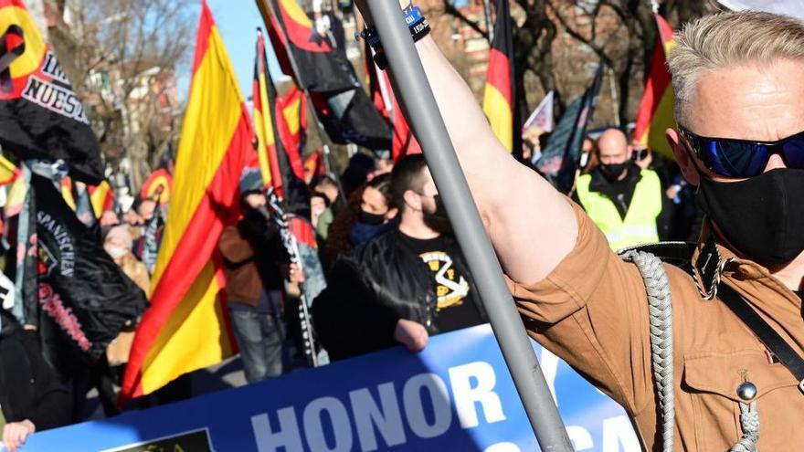 La Fiscalía investigará las proclamas antisemitas durante un homenaje a la División Azul en Madrid