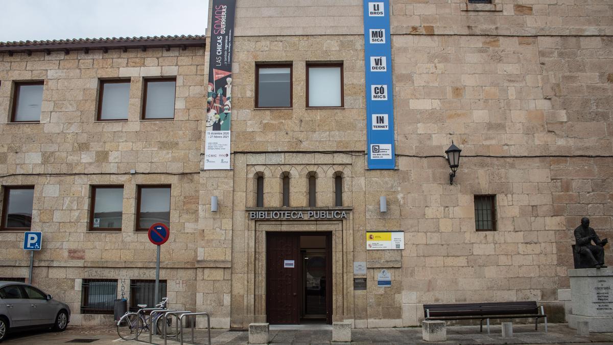 Biblioteca Pública del Estado en Zamora.