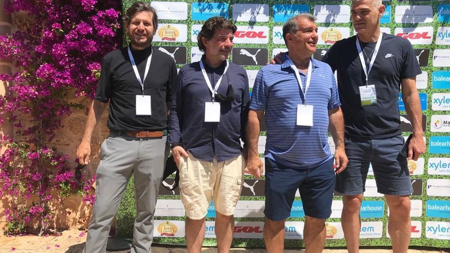 Constelación de estrellas del fútbol en un torneo de golf en Mallorca