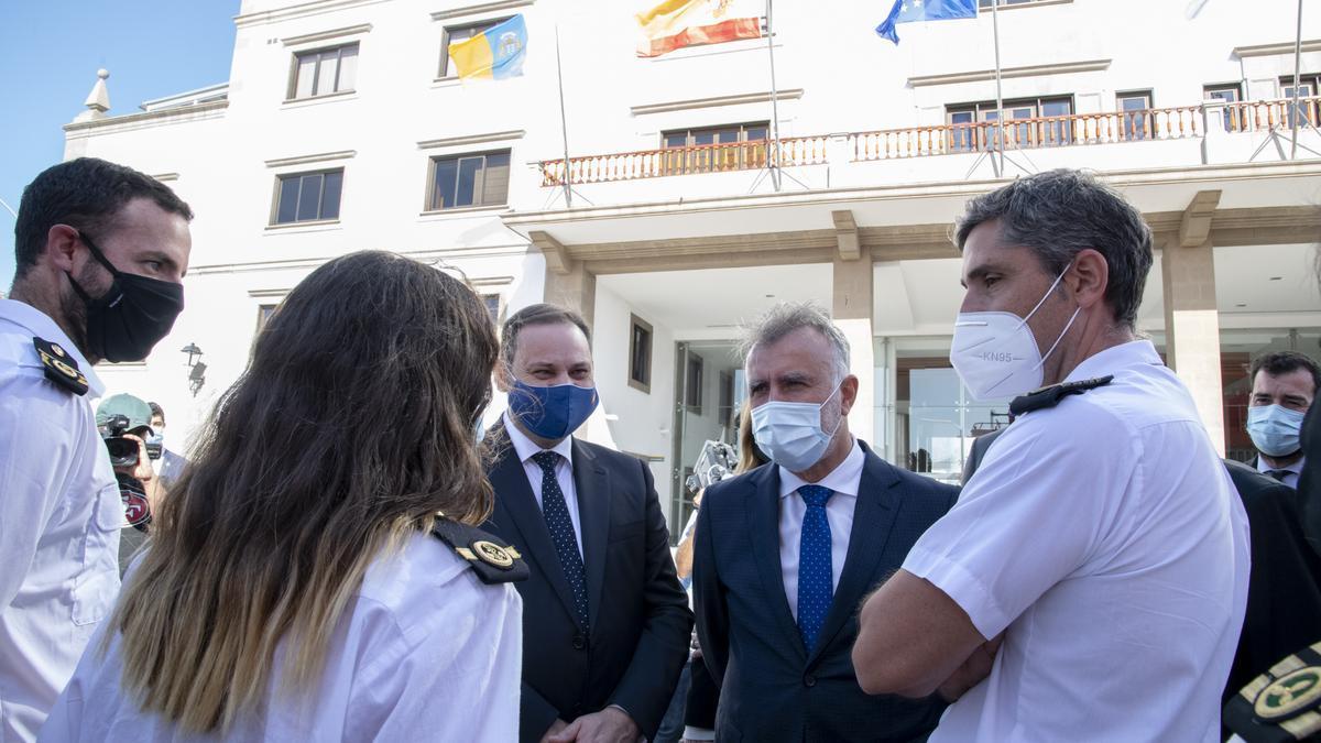 El presidente de Canarias se muestra optimista sobre la posibilidad de que se acepten los test de antígenos