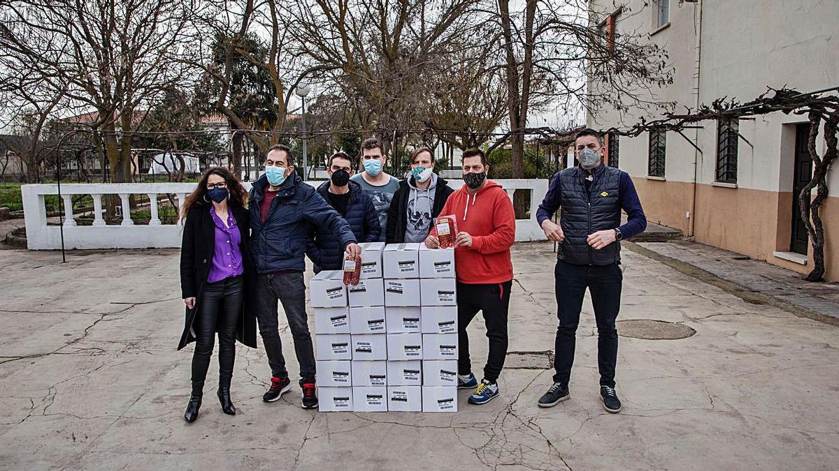 Proyecto Hombre recibe cien kilos de alimentos  | NICO RODRÍGUEZ