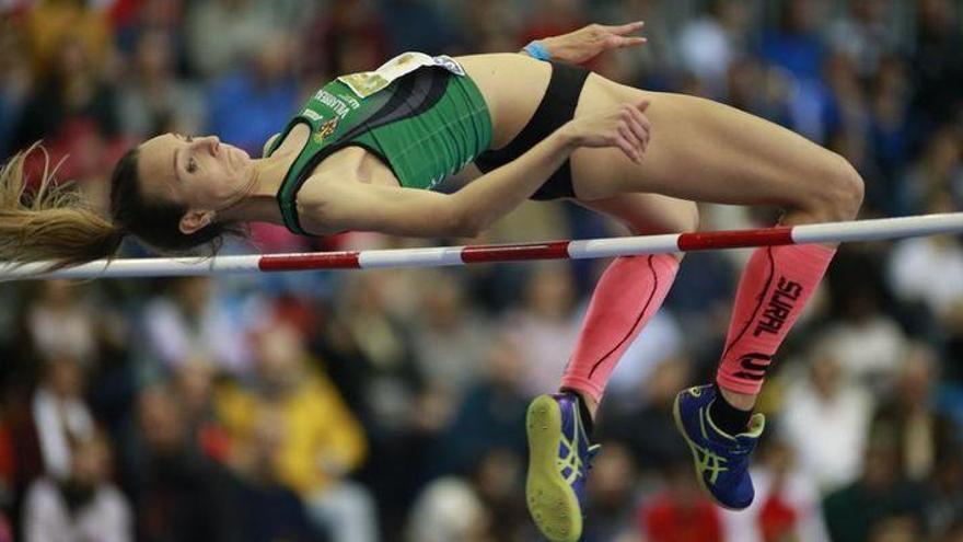 La benicarlanda Cristina Ferrando, campeona de España de salto de altura con 1,85 metros