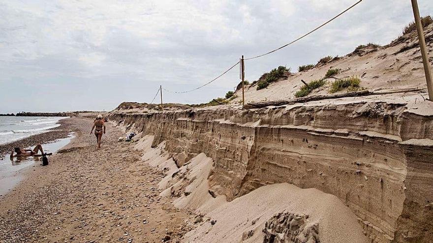 Las playas de la ciudad han perdido hasta10 metros en tan solo 5 años