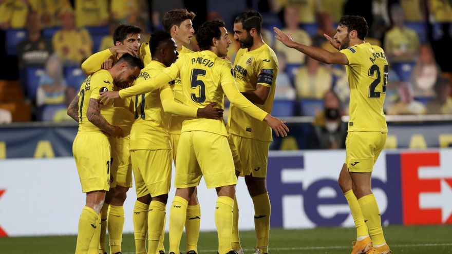 Las mejores imágenes del Villarreal - Dinamo de Zagreb