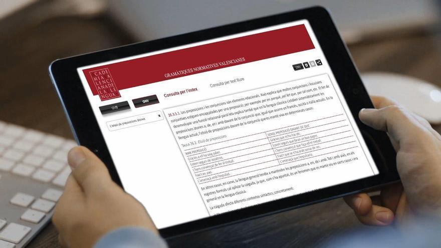 'Gramàtic-On' llega para resolver online tus dudas con el 'valencià'