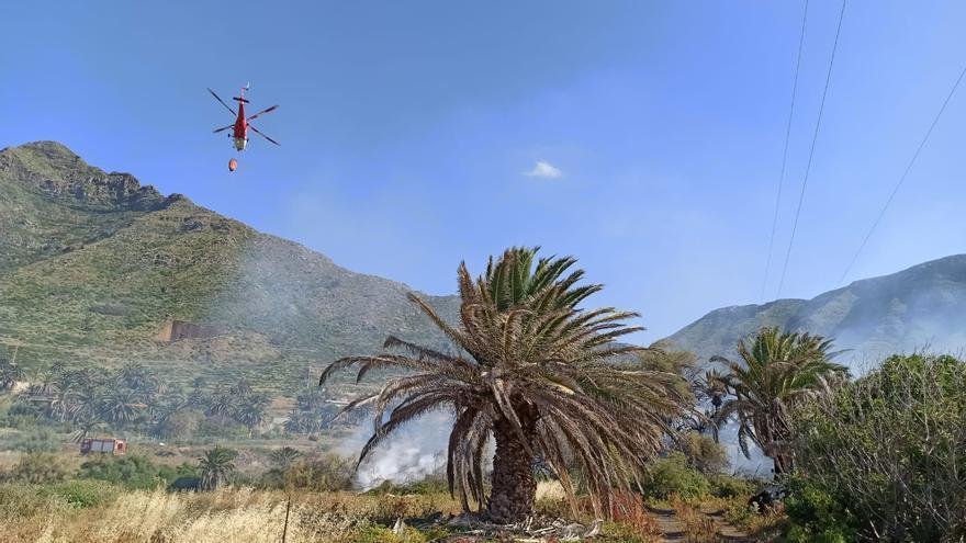 Incendio en Bajamar