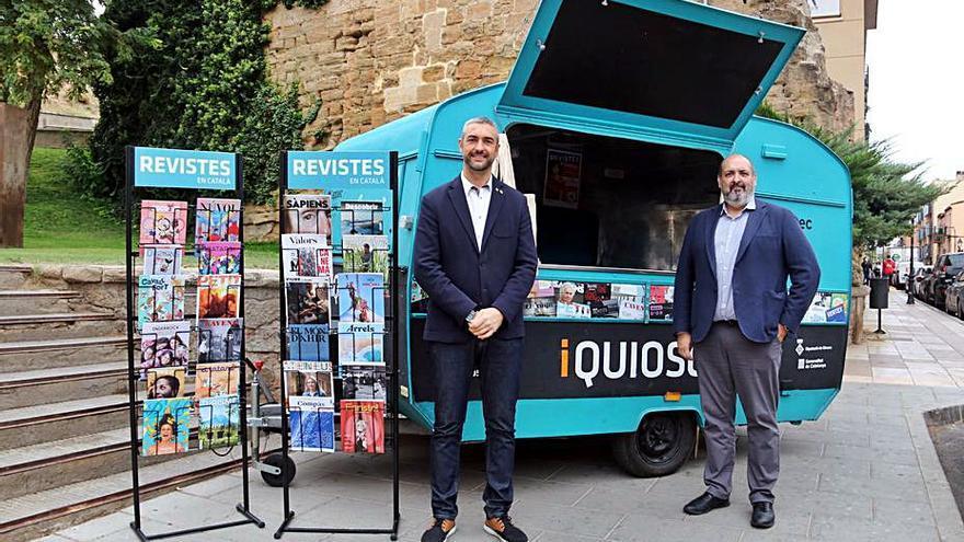 La caravana iQuiosc.cat visitarà pobles de l'Alt Urgell que no tenen llibreria