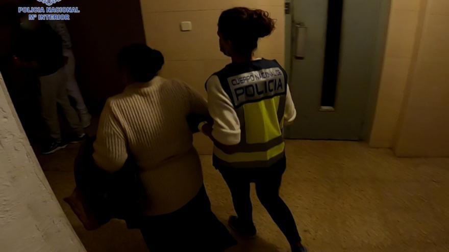 Desmantelan cinco puntos de venta de droga en Palma