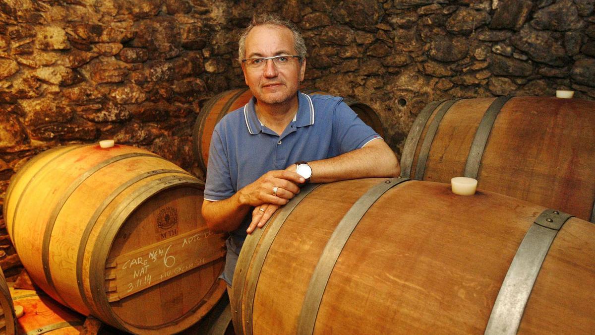 Xavier Albertí, president del consell regulador de la DO Empordà. | ANIOL RESCLOSA