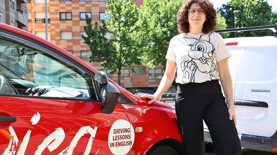 Enseñar a conducir… en inglés