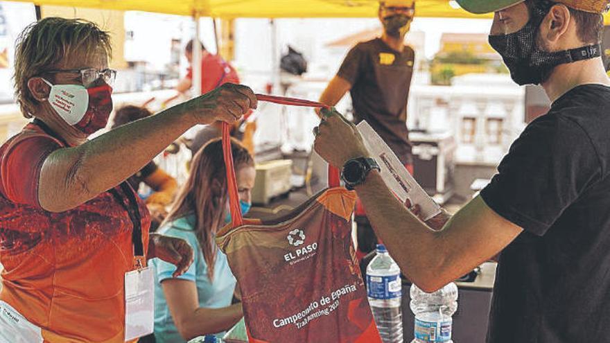Los mejores del trail nacional miden sus fuerzas en El Paso