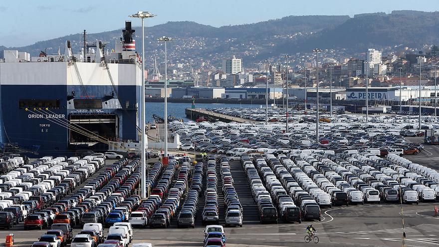 Las exportaciones allanan la recuperación de Galicia con un primer trimestre histórico