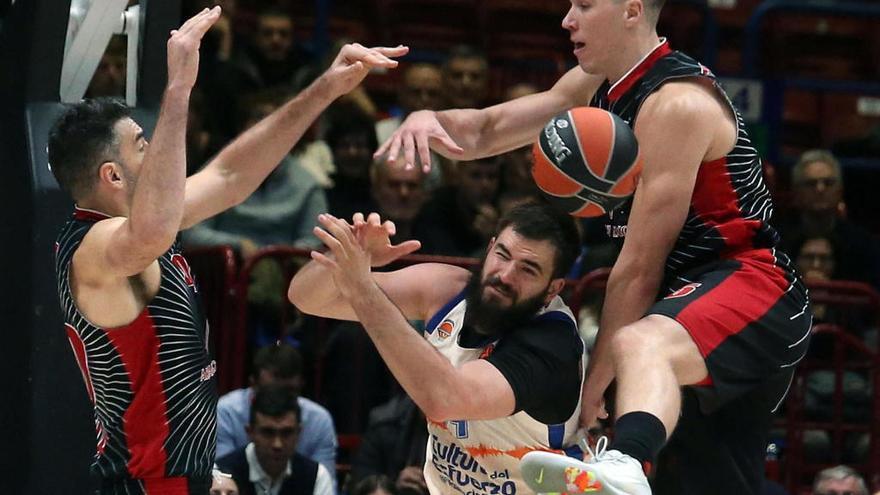 Valencia Basket: El Top 8 se escapa en la falta de acierto