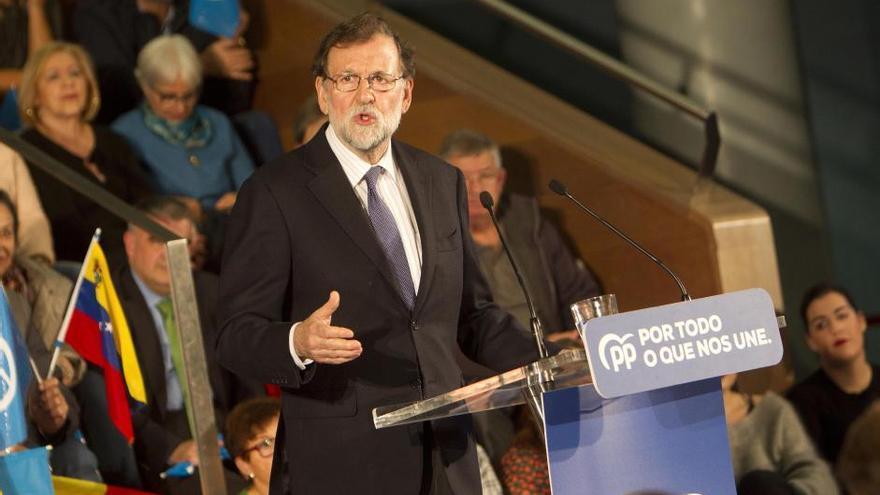 Elecciones generales 10N | Rajoy 'mitinea' en Vigo