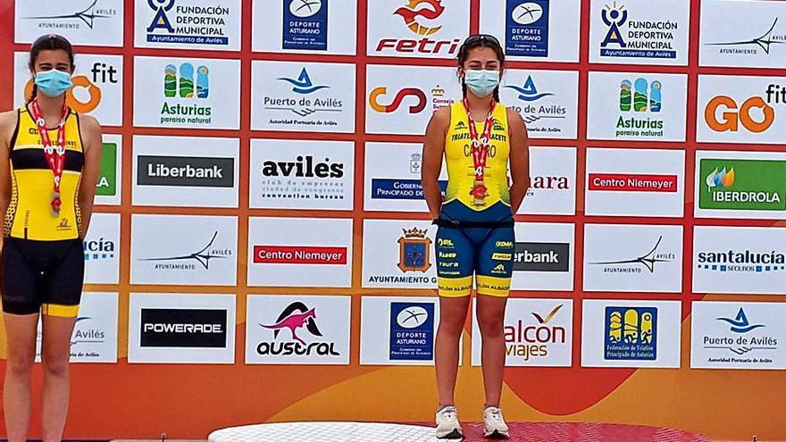 Eva Sánchez, campeona de España cadete
