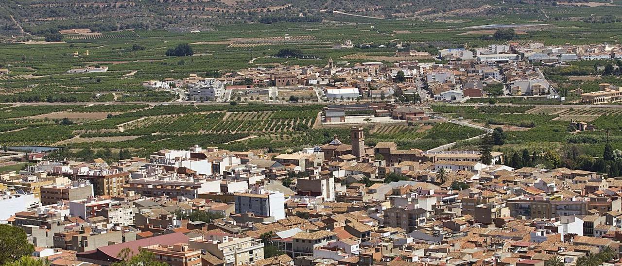 Vista de varios pueblos de Les Valls.  | DANIEL TORTAJADA