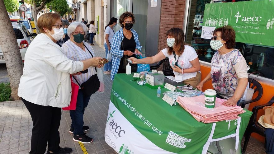 Massamagrell recauda 1.200 euros para la lucha contra el cáncer