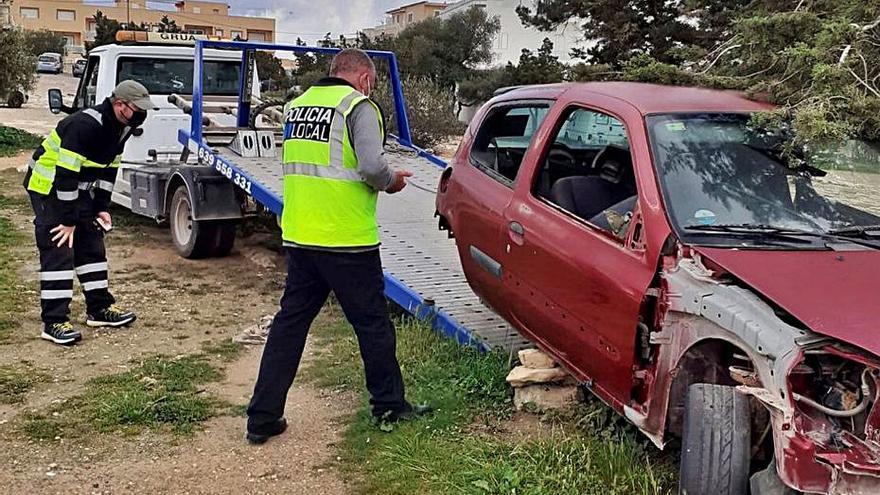 Formentera retira 186 coches
