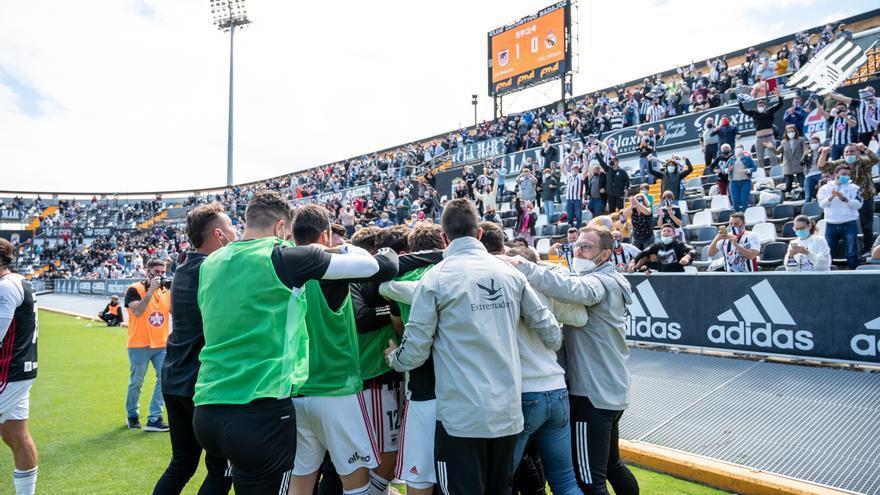 El Badajoz, campeón 30 años después