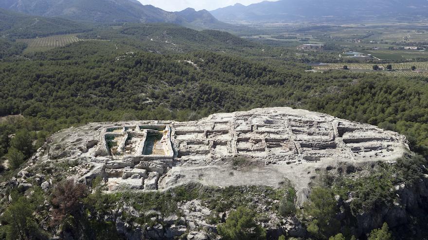 El yacimiento de La Bastida candidato al Premio Nacional de Arqueología y Paleontología