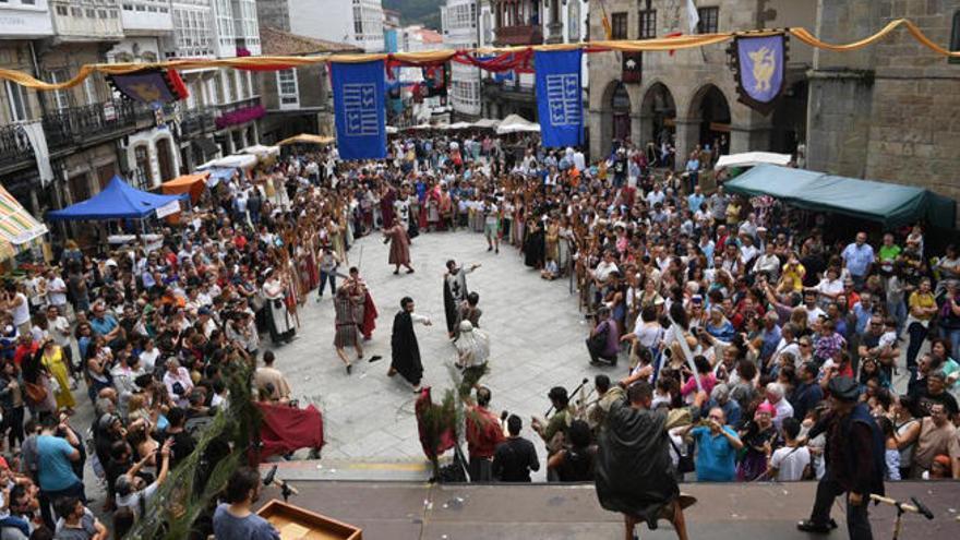 Betanzos entra en la época medieval