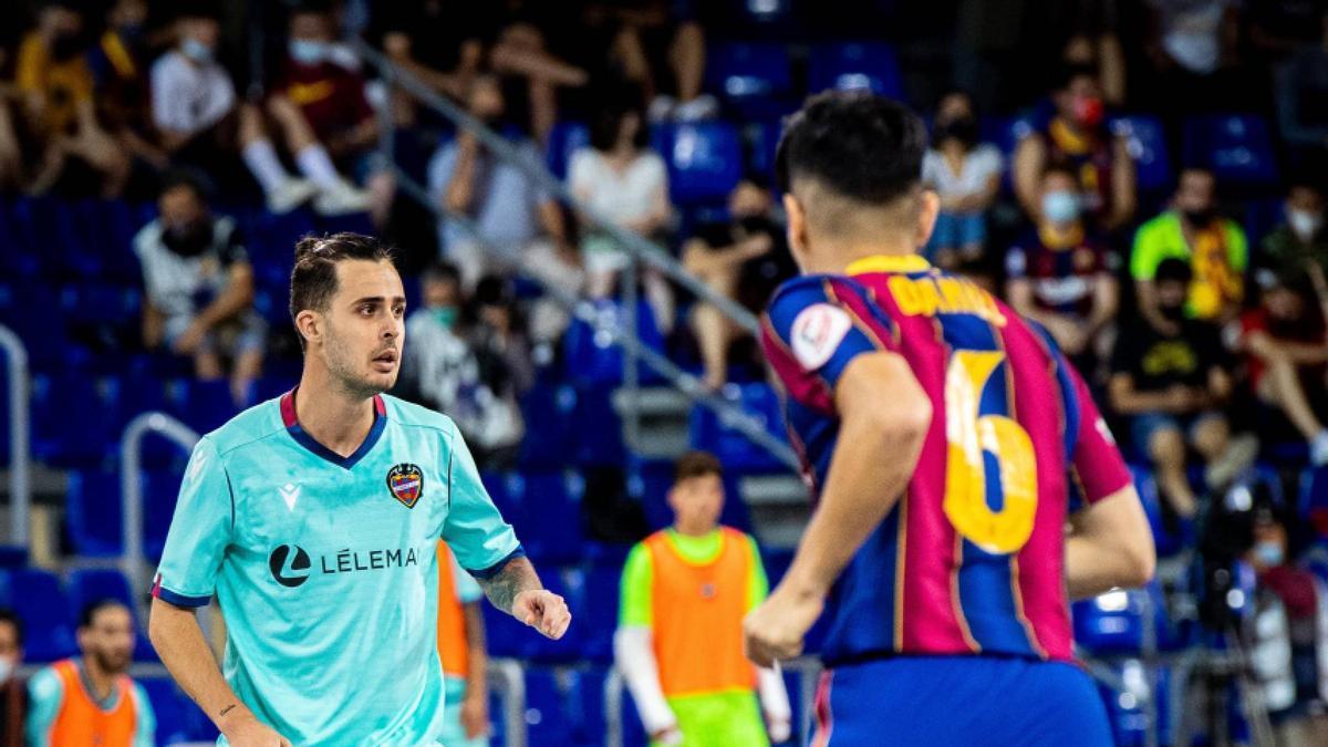 Jorge Santos se desvincula del Levante Fútbol Sala