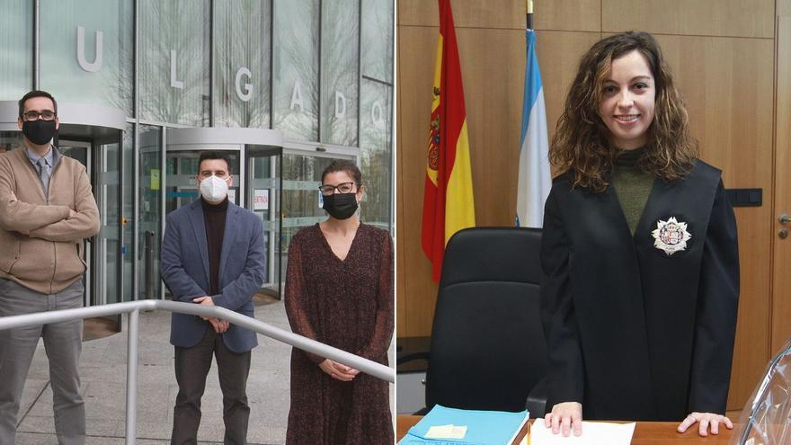Los tres jueces de refuerzo en Ourense prolongarán su labor más allá de septiembre